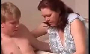 teen boy with Russian mature